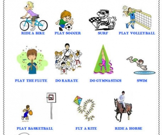 Modal verbs: Can for Ability