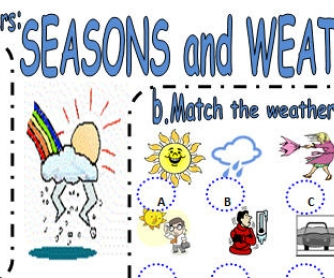 Let's Talk About Seasons And Weather