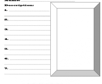 Wanted: Blank Poster Template
