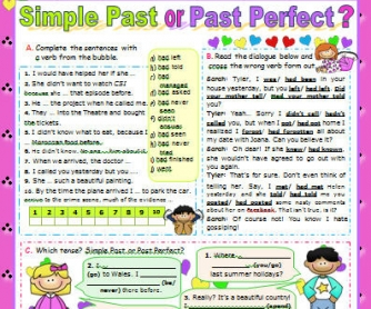 Simple Past vs Past Perfect