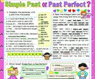 Simple Past vs Past Perfect