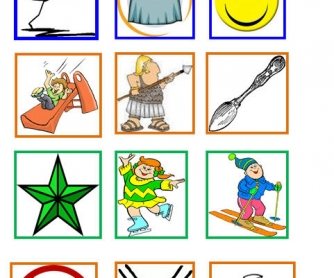 Consonant Blends: Flashcards + 4 Exercises