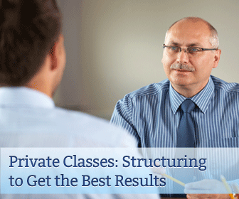 Private Classes: Structuring to Get the Best Results