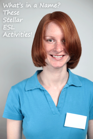 ★ What's in a Name? These Stellar ESL Activities!