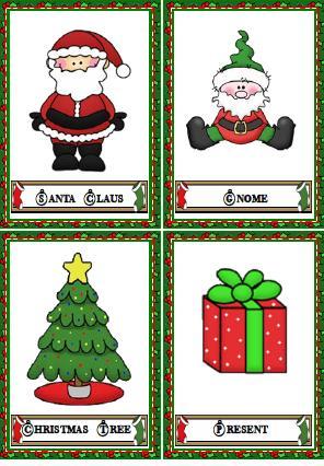 Christmas Flashcards