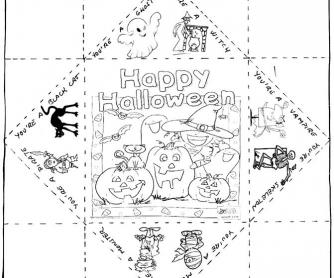 Halloween Fingers Counter