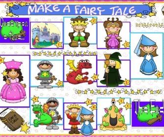 Make a Fairy Tale: Boardgame