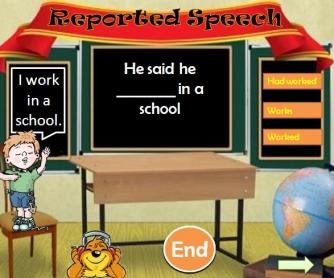 Reported Speech: PowerPoint Presentation II