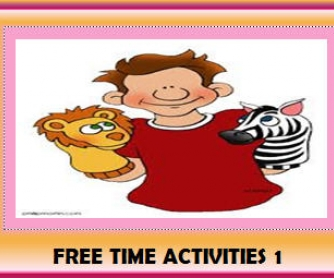 Free Time Activities 1 (26 Slides)