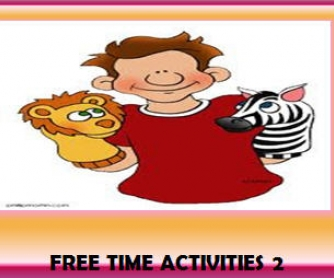 Free Time Activities 2 (30 Slides With Extra Activities)