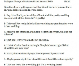Always a Bridesmaid: Its vs It's
