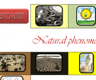 Natural Phenomena And Weather Board Game