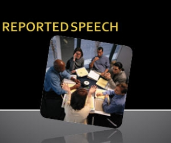 Reported Speech Presentation