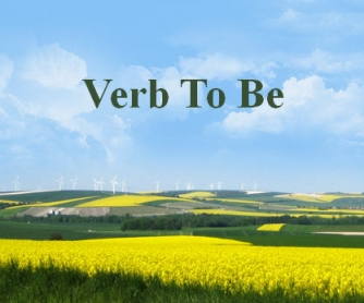 Introducing Verb To Be
