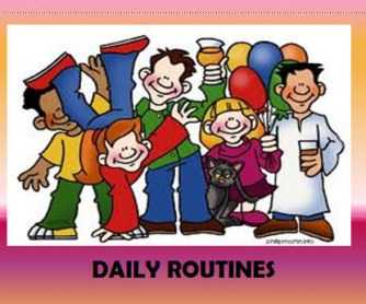 Daily Routines Presentation
