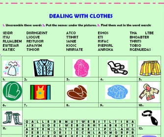 Dealing With Clothes