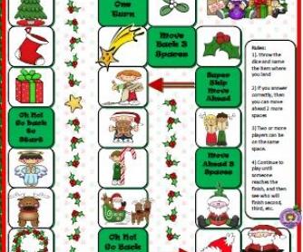 Christmas Boardgame