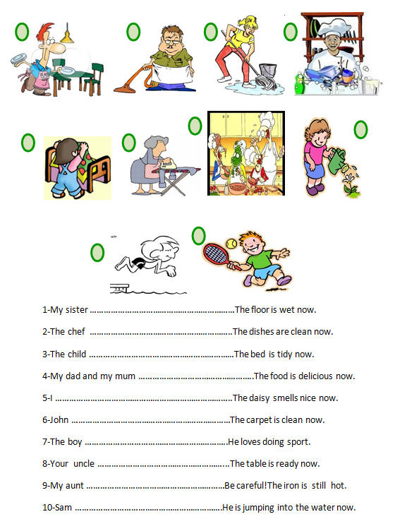 Worksheets Continuous Tense Worksheet present continuous tense worksheet