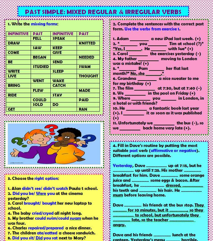 Past simple – irregular verbs | LearnEnglish Teens ...