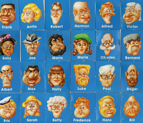 Unforgettable image within guess who printable