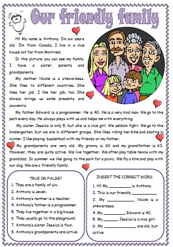 Family Lesson Plans, Activities, Printables and Ideas