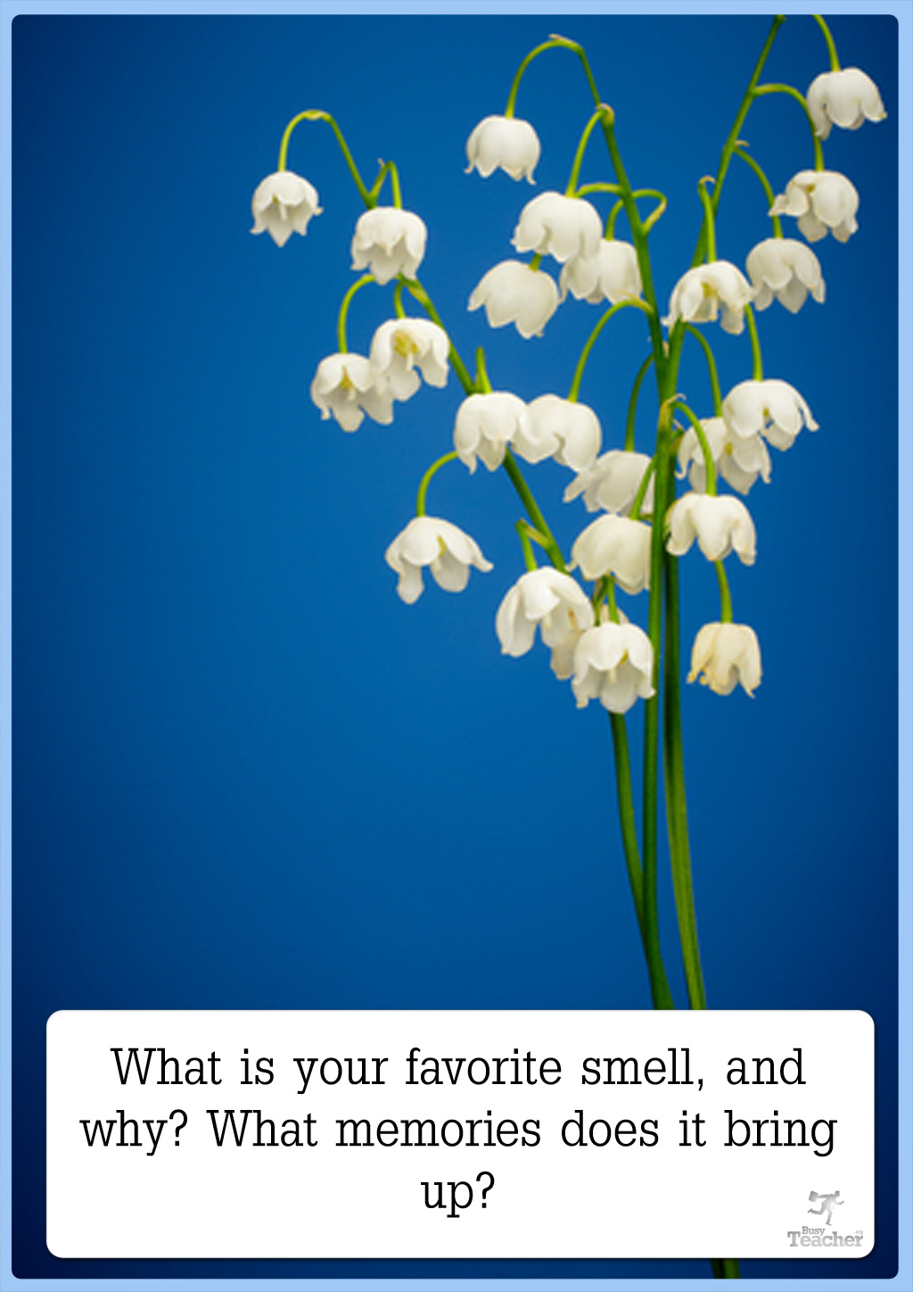 What Is Your Favorite Smell And Why? [CREATIVE WRITING PROMPT]