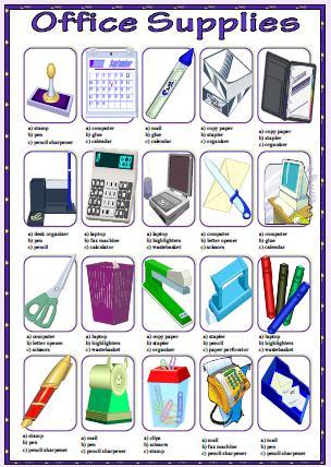 Office Supplies Worksheet