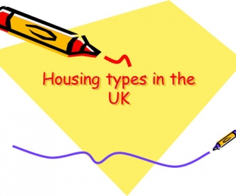 Housing Types in the UK
