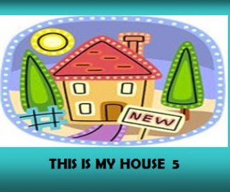 This Is My House 5/5 (Living Room & Dining Room) (41 slides + extra activities)