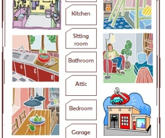 Parts of a House | Worksheet | Education.com