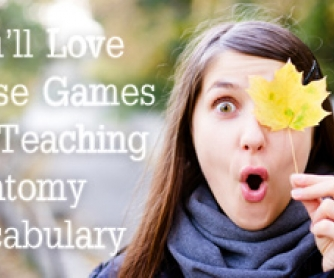 "Simon Says You""ll Love these Games for Teaching Anatomy Vocabulary"