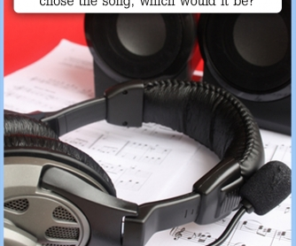 If You Had To Listen To The Same Song...? [CREATIVE WRITING PROMPT]