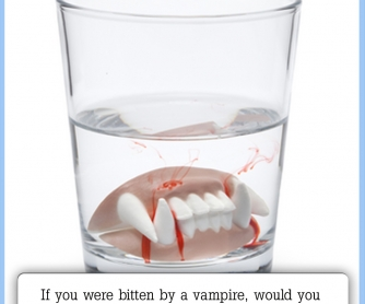 If You Were Bitten By A Vampire, ...? [CREATIVE WRITING PROMPT]