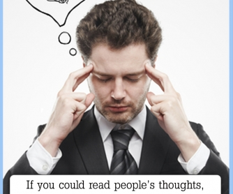 If You Could Read People's Thoughts... [CREATIVE WRITING PROMPT]