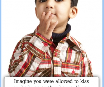 Imagine You Were Allowed To Kiss Anybody On Earth... [CREATIVE WRITING PROMPT]