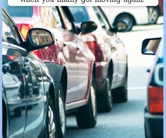 The Longest Traffic Jam [CREATIVE WRITING PROMPT]