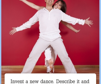 Invent A New Dance [CREATIVE WRITING PROMPT]