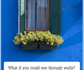 What If You Could See Through Walls? [CREATIVE WRITING PROMPT]