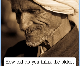 How Old Is The Oldest Person Living? [CREATIVE WRITING PROMPT]