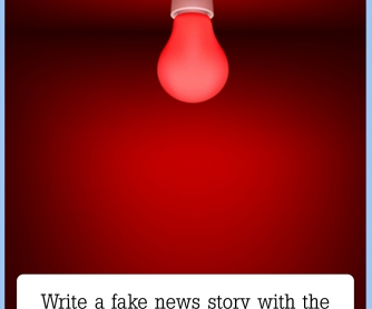 Write A Fake News Story [CREATIVE WRITING PROMPT]