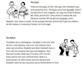 Family Relations Quiz
