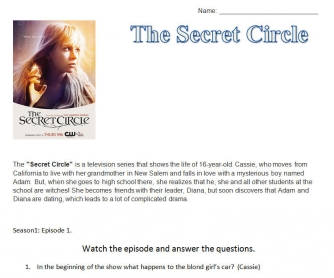 The Secret Circle Series Episode One