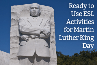 7 ready to use esl activities for martin luther king day ibookread Read Online