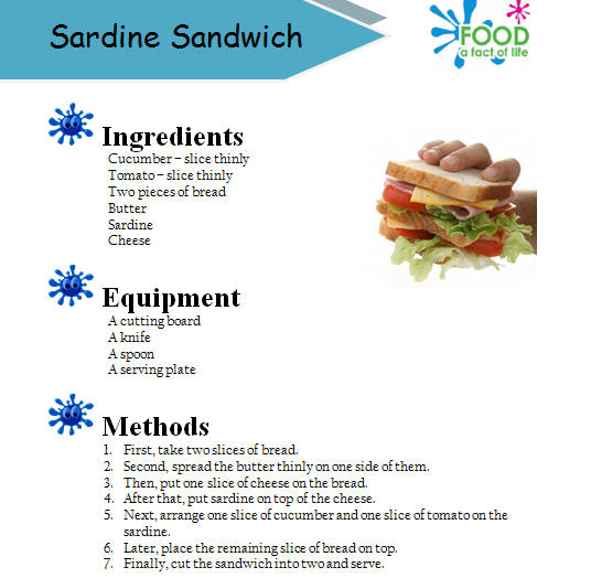 Making this worksheet is good for teaching reading and writing skills teacher distributes the instructions of sandwich making to pupils and drills pupils on the forumfinder Choice Image