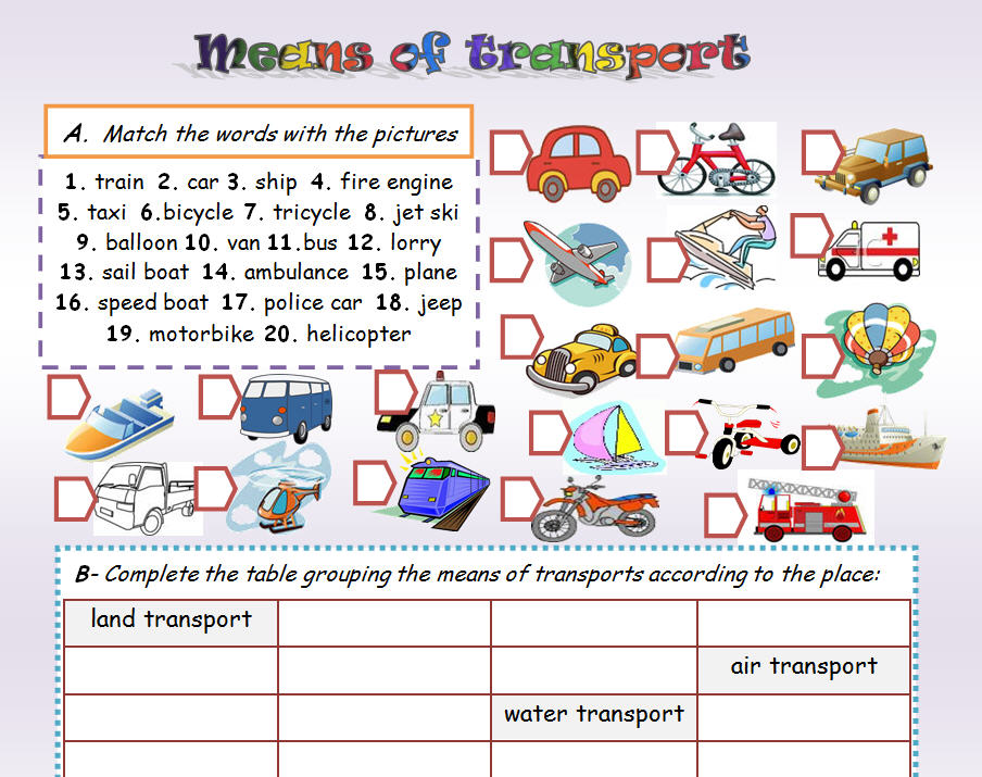 an essay about means of transport Transport essays: over 180,000 transport essays, transport term papers, transport research paper, book reports 184 990 essays, term and.