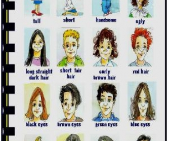 Physical Appearance Picture Dictionary