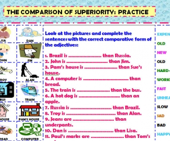 The Comparison of Superiority