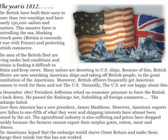 1812 War - Reading/Comp Q's/Peace Negotiation
