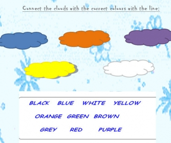 Colours: Basic Worksheet