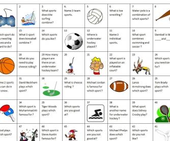 Sports Board Game